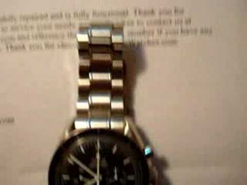 Authentic Watches Omega Watch Customer Complaint