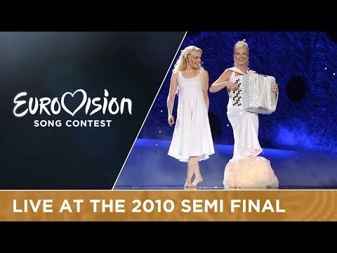 Kuunkuiskaajat - Työlki Ellää (Finland) Live 2010 Eurovision Song Contest