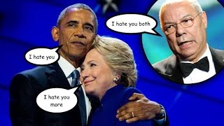 Wikileaks, Guccifer 2.0. and DC Leaks Expose Obama, Hillary Clinton, & Colin Powell