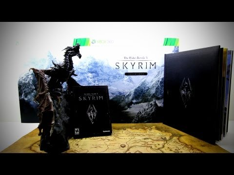 Skyrim Collector's Edition Unboxing