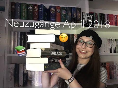NEUZUGÄNGE April 2018 - So viele Bücher wie schon lange nicht mehr