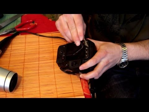 How to replace a glass screen (Nikon D3100 )