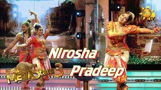 Nirosha Thalagala with Pradeep Mega Stars 3 | FINAL 09 | 2021-08-15