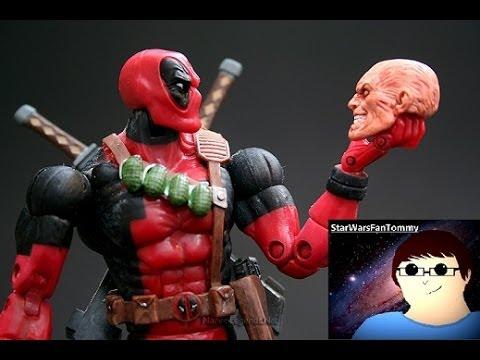 Marvel legends toybiz series 6 deadpool figure review for Deadpool show
