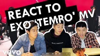 ASIAN AMERICANS REACT TO EXO TEMPO CHINESE MV - EXO Tempo REACTION - 美國華裔第一次看EXO TEMPO節奏 - 有甚麼反應?