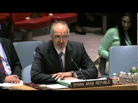 Syria: Bashar Ja'afari   Middle East   Security Council, 7164th meeting   April 29, 2014