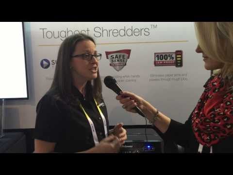 Fellowes Shredders at CES 2015