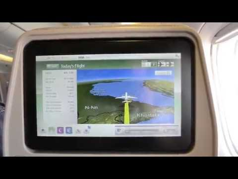 Emirates EK 337 Economy Manila to Dubai with NEW IFE equipement! (A6-ENF)