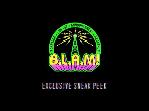 Bonnaroo Lineup Announcement Megathon Sneak Peek - BLAM! 2014