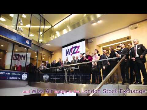 Wizz Air made it to the London Stock Exchange