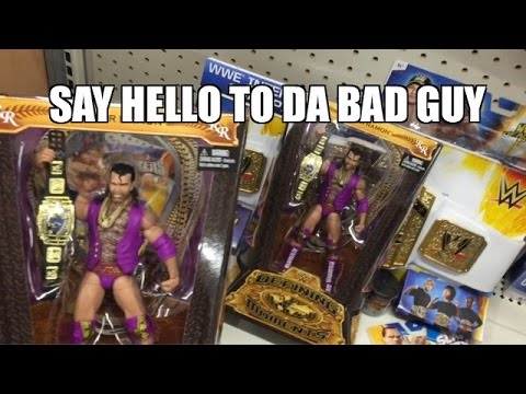 WWE ACTION INSIDER: Walmart RAZOR RAMON! Ebenezers EPIC REACTION to Mattel Wrestling Figure Aisle!