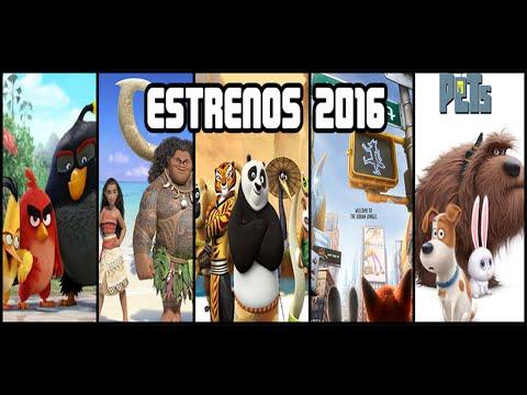 Próximas Películas Animadas 2016