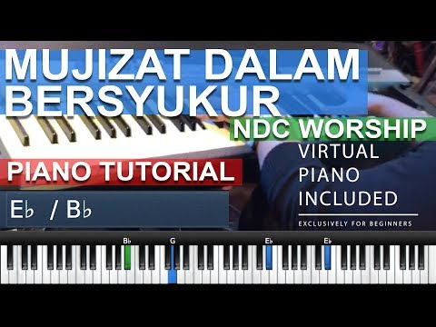 Mujizat Dalam Bersyukur (Faith NDC Worship) MEDLEY Kupandang WajahMu ( Virtual Piano Included )
