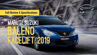 2019 BALENO FACELIFT     MARUTI SUZUKI BALENO 1.2 L ALPHA PETROL   FULL REVIEW & SPECIFICATIONS