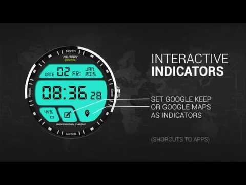 Watch Face Military Digital APK Cover