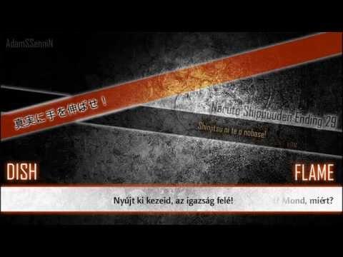 DISH: FLAME [Naruto Shippuuden Ending 29] Lyrics