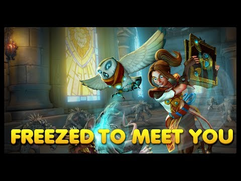 Orcs Must Die! Unchained — Weekly Challenge: Freezed to Meet You, 5 Stars, Zoey