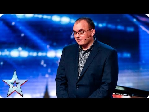 Nicholas is just one man and his piano… or is he? | Week 1 Auditions | Britain's Got Talent 2016