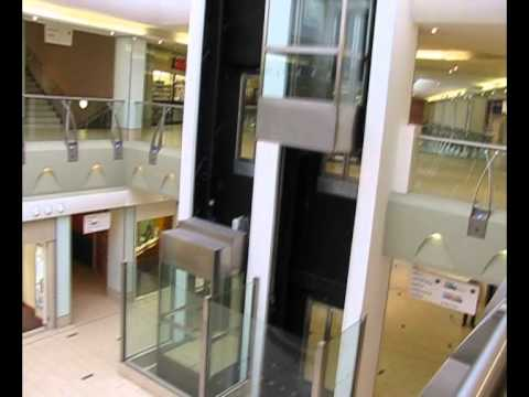 Tour of the lifts at Doncaster shopping center