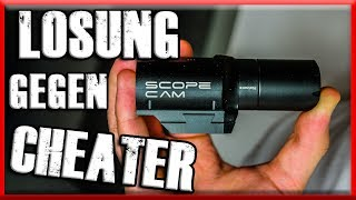 LÖSUNG gegen AIRSOFT CHEATER Airsoft Scope Cam RunCam deutch / german