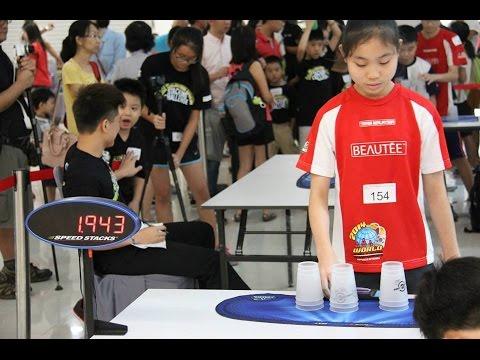 WSSA Malaysia Dpulze Sport Stacking Challenge 2015!