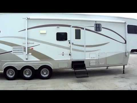 2005 Sunnybrook Titan 5th wheel Toy Hauler| Super Size Your Toy Hauling Experence With The Titan!
