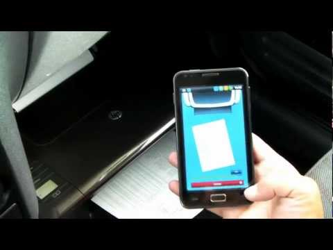 How to print wirelessly, without a router, using Android smartphone (in my car)