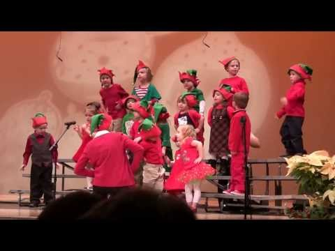 Absorbent Minds Montessori School Christmas Play 2013 (part 1 of 3) - 12/14/2013
