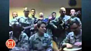 Deployed Soldiers Perform Adele Hit for ETonline.