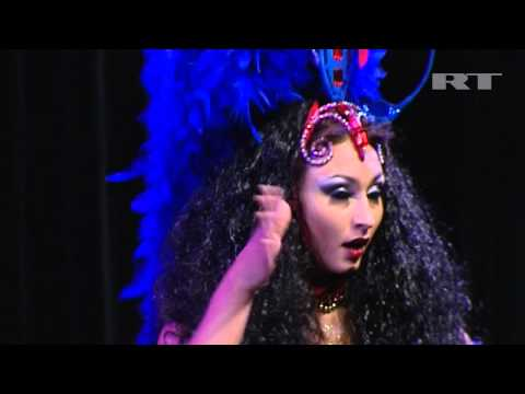 Erotic Show! Belly Dancers Show Amazing Moves At Moscow Festival beauty Of Femininity video