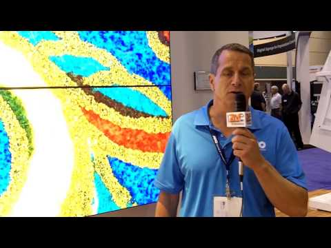 InfoComm 2013: Almo Presents its Art Video Wall