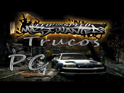 Trucos Need For Speed Most Wanted PC (Loquendo)