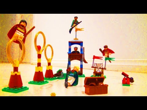 LEGO Harry Potter Quidditch Match Toy Review 4737