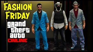 GTA 5 Online FASHION FRIDAY! (Tommy Vercetti, Mexican Druglord, The Con Man & More)