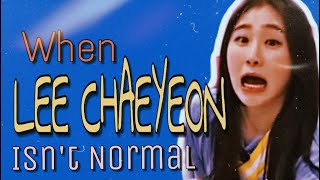 When Lee Chaeyeon is not Normal | 이채연