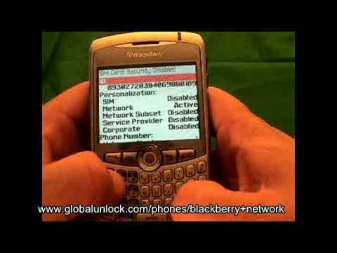 Video: How To Unlock Any Blackberry - globalunlock.com