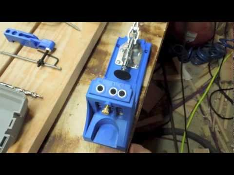Kreg Jig K4MS Master System Pocket Hole Jig Tool Review