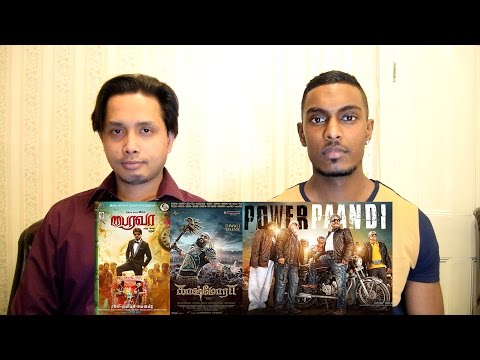 Bairavaa, Kaashmora, Power Paandi | First Look Poster Reaction & Review | PESH Entertainment