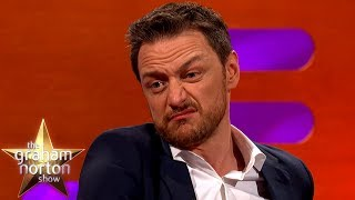 James McAvoy Used His Grandad's Razor To Shave His Balls! | The Graham Norton Show