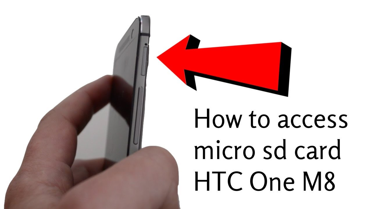 Htc One m8 Memory Card Slot Micro sd Card Htc One m8