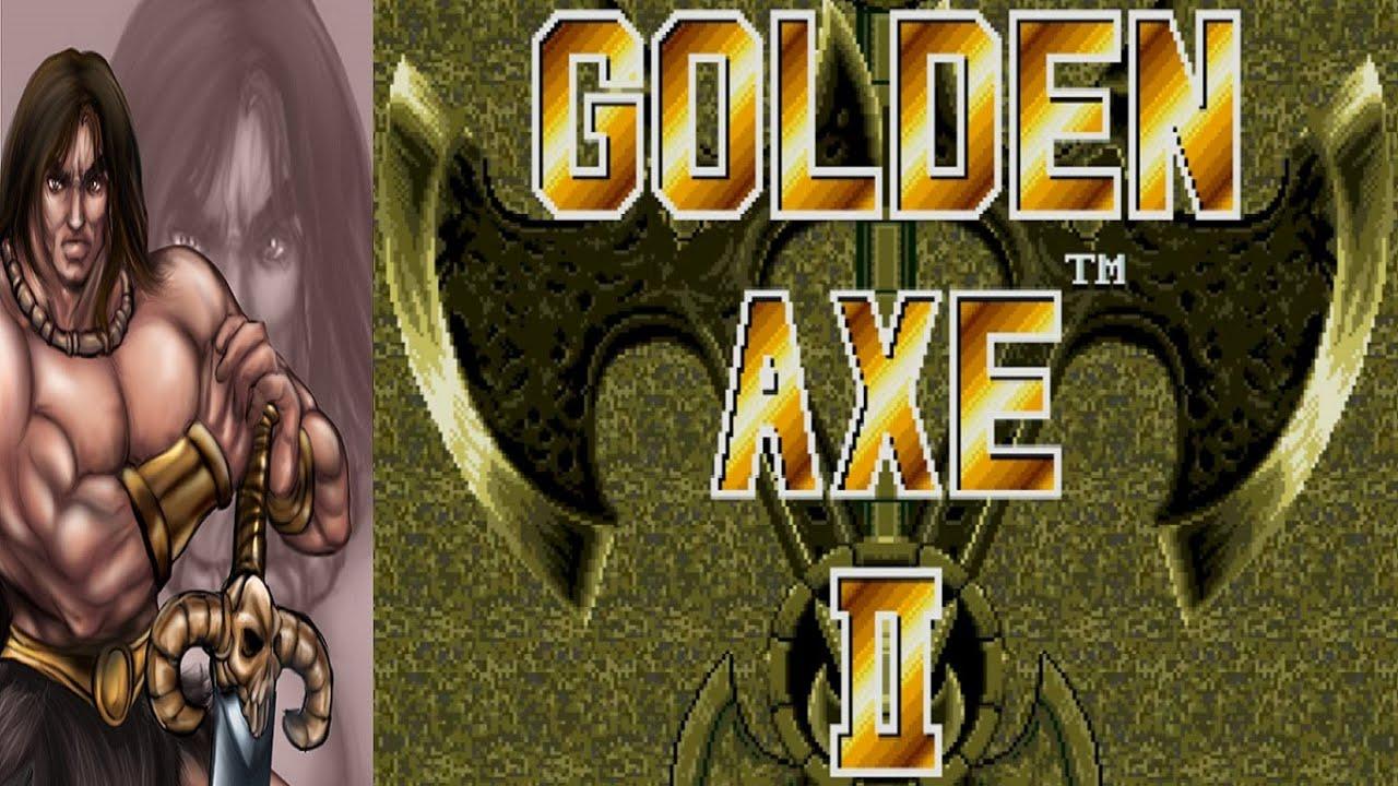Golden Axe Beast Rider ax Battler Golden Axe ii ax Battler