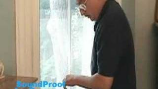 Sound Proof Any Window - Bedroom Demo