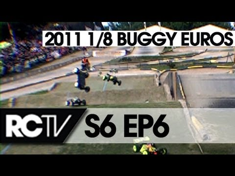RC Racing S6 Episode 6 - EFRA 1/8th Buggy Euros - and IIC Modified TC Action!