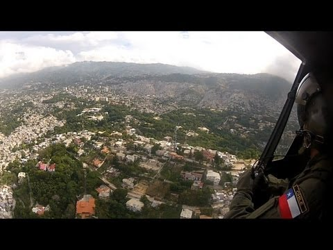Petionville, Port-au-Prince, Delmas, Cité Soleil - Haiti - Overflight with Bell Huey UH-1