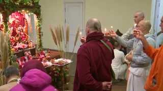 2014.10.24. Damodarashtaka, Govardhana Puja HG Sankarshan Das Adhikari, Kaunas, Lithuania