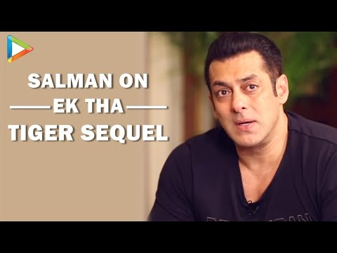 Possibility Of A Sequel To Ek Tha Tiger...: Salman Khan video