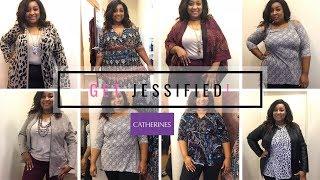 Catherine's Plus Size Fashion Dressing Room Haul |Get Jessified!