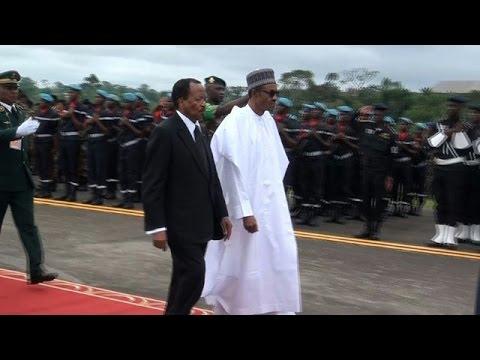 Nigeria's Buhari in Cameroon to discuss Boko Haram fight