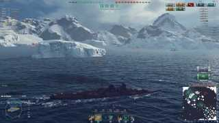 World of Warships tier 7 Japanese Cruiser - Mogami