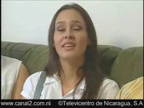 Miss Nicaragua al Descubierto. Iva Grijalva